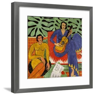 Music, c.1939-Henri Matisse-Framed Art Print