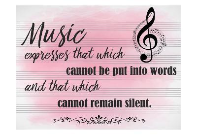 Music Expresses-Kimberly Allen-Art Print
