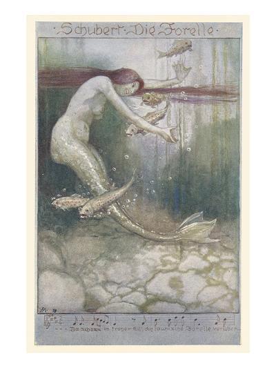 Music for Schubert's the Trout--Art Print