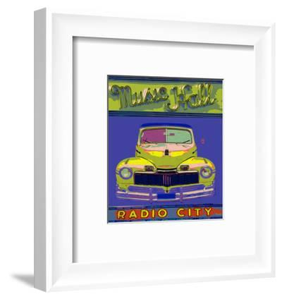 Music Hall Radio City-Irena Orlov-Framed Art Print