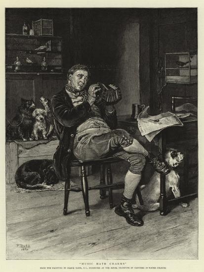 Music Hath Charms-Frank Dadd-Giclee Print