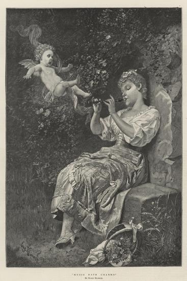 Music Hath Charms--Giclee Print