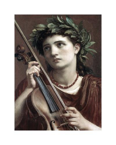 Music, Heavenly Maid-Sir Edward John Poynter-Premium Giclee Print