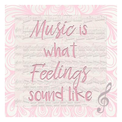 Music Is A-Kimberly Allen-Art Print