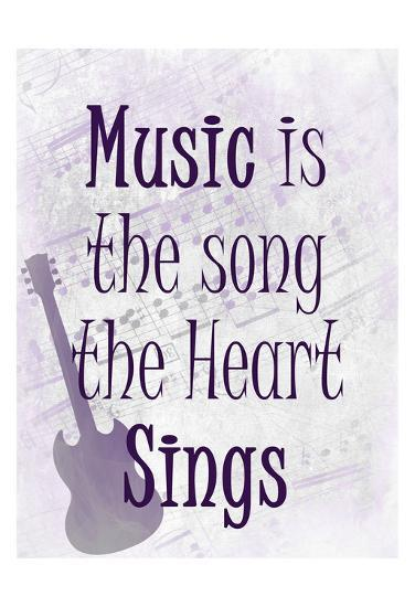 Music is the Song-Kimberly Allen-Art Print