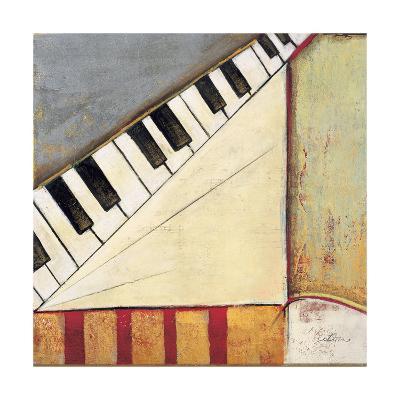 Music Notes I-Susan Osborne-Art Print