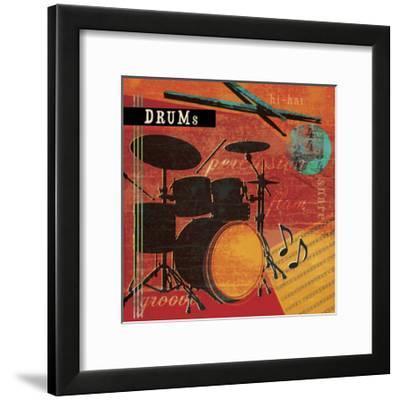 Music Notes IX-Beth Ann Creative-Framed Art Print