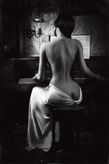 Music of the Body-Ruslan Bolgov (Axe)-Photographic Print