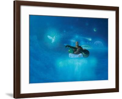 Music of the Universe-Simon Cook-Framed Giclee Print