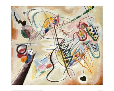 Music Overture, 2001-Wassily Kandinsky-Giclee Print