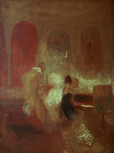 Music Party, East Cowes Castle, Isle of Wight, 1835-J^ M^ W^ Turner-Giclee Print