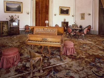 Music Room in National Palace of Mafra--Giclee Print