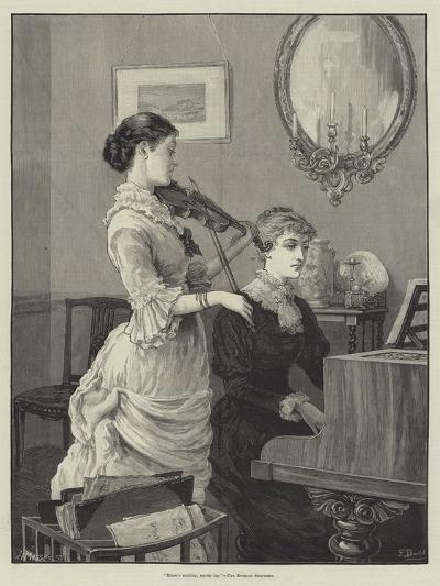 Music's Melting, Mystic Lay, the Ettrick Shepherd-Frank Dadd-Giclee Print