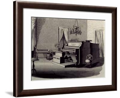 Music Salon in Altenburg, Weimar, Where Franz Liszt--Framed Giclee Print
