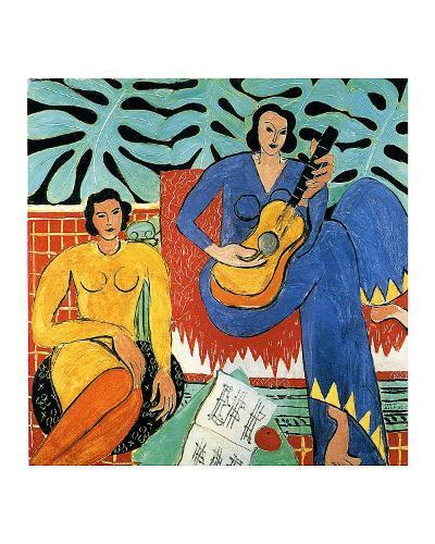 Music-Henri Matisse-Giclee Print