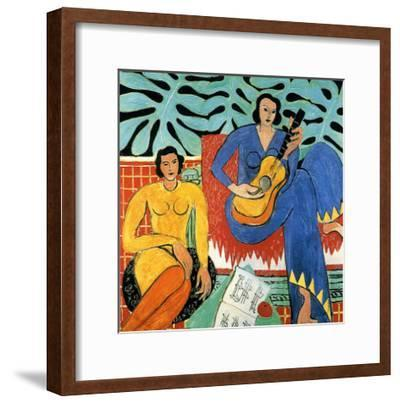 Music-Henri Matisse-Framed Giclee Print
