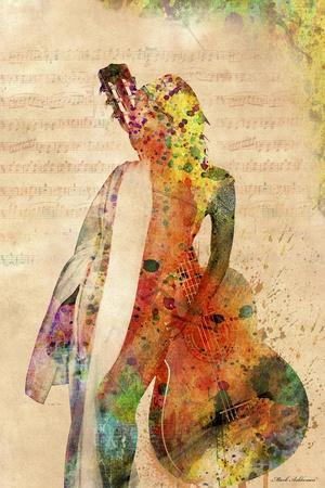 Music-Mark Ashkenazi-Giclee Print