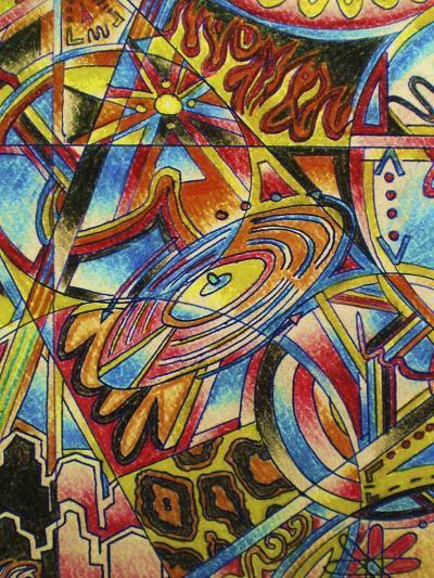 Music-Abstract Graffiti-Giclee Print