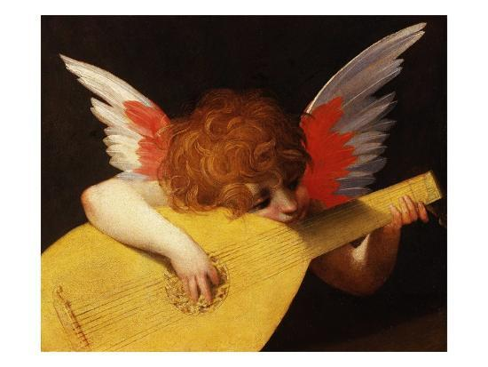 Musical Angel by Rosso Fiorentino--Giclee Print