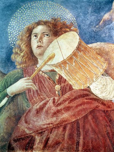 Musical Angel with Drum-Melozzo Da Forli-Giclee Print