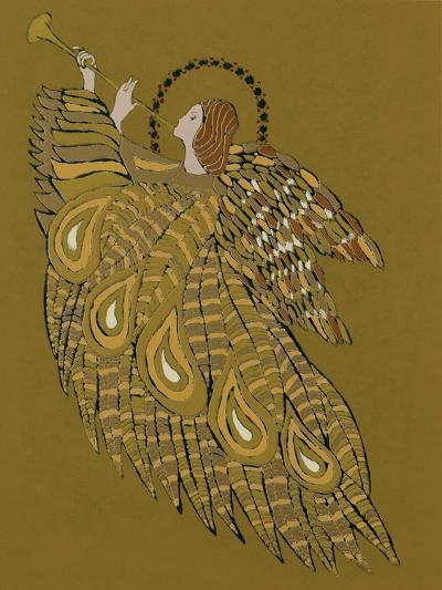 Musical Angel-Gillian Lawson-Giclee Print