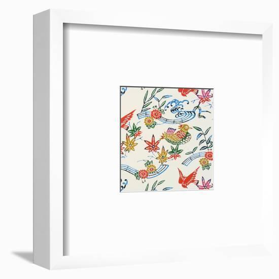 Musical Birds in Trees--Framed Art Print