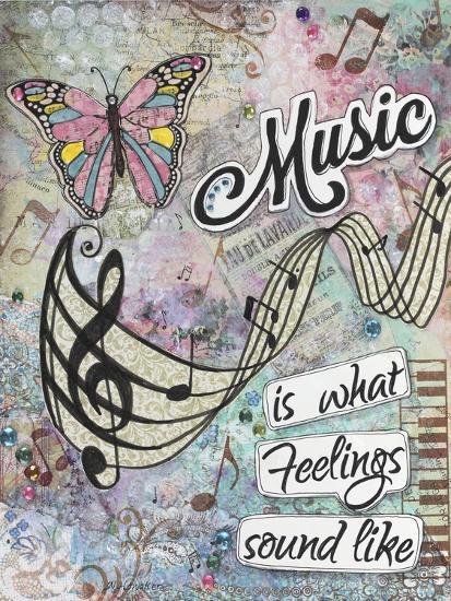 Musical Feelings-Let Your Art Soar-Giclee Print