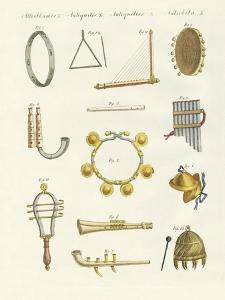 Musical Instruments of the Ancients -- Whistles, Rattles and Cymbals