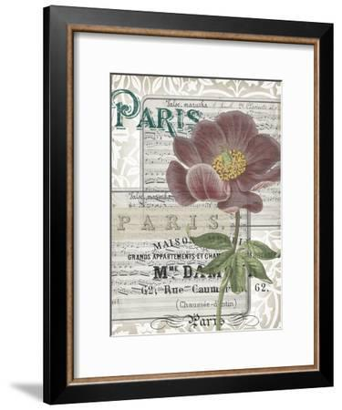 Musical Paris I-Jennifer Goldberger-Framed Art Print
