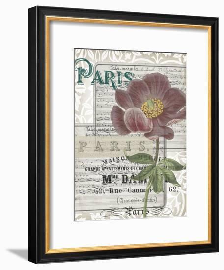 Musical Paris I-Jennifer Goldberger-Framed Art Print