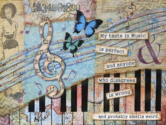 Musical Perfection-Let Your Art Soar-Giclee Print
