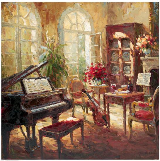 Musical-Nikolai Rimsky-Art Print
