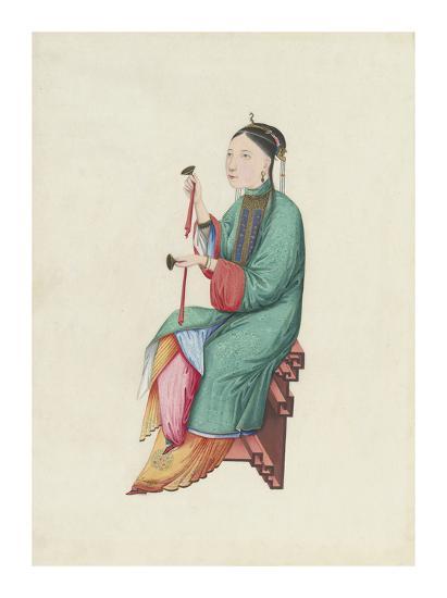 Musican II- Oriental School-Premium Giclee Print