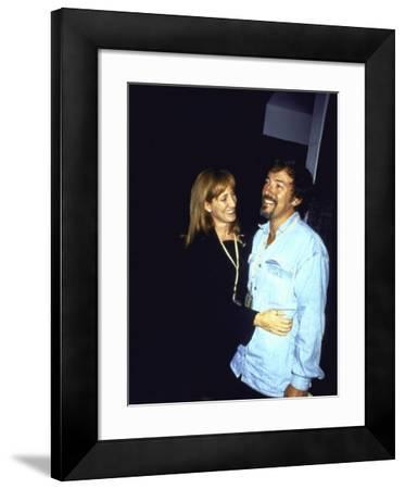 Musician Bruce Springsteen and Wife, Singer Patti Scialfa