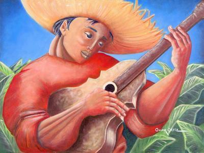 Musician-Oscar Ortiz-Giclee Print