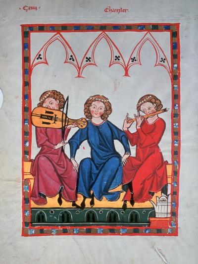 Musicians, 1304-1340--Giclee Print