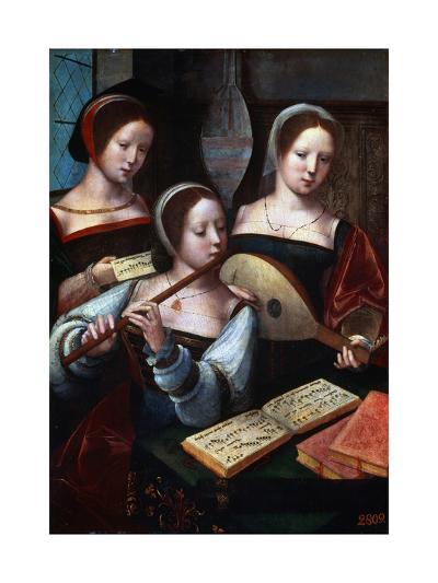 Musicians, 1530S-1540S--Giclee Print