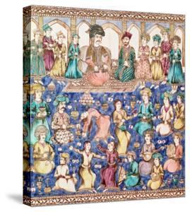 Musicians and Dancers at the Court of Nasser Al-Din Shah Qajar