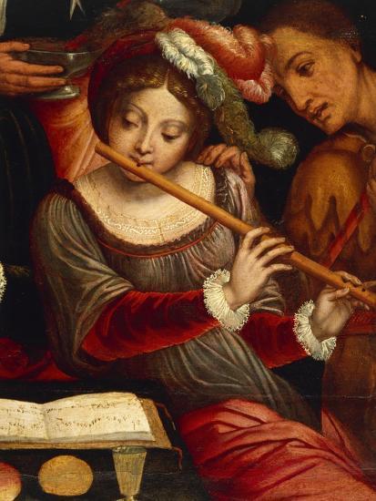 Musicians-Pieter Coecke Van Aelst the Elder-Giclee Print