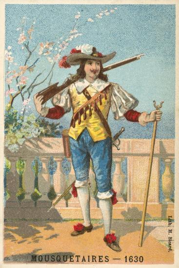 Musketeer, 1630--Giclee Print