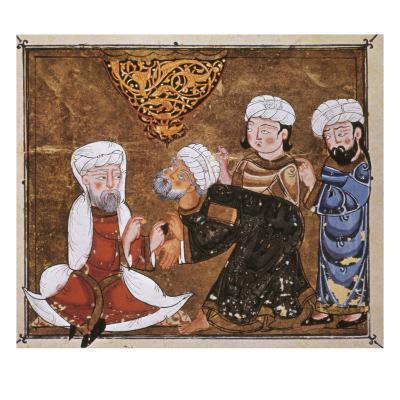 Muslim Court, 1334 A.D--Giclee Print