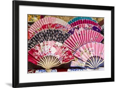 Muslim Quarter Market, Xian, China-Michael DeFreitas-Framed Photographic Print