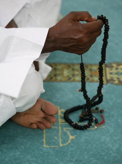 Muslim with Prayer Beads, Lyon, Rhone Alpes, France, Europe-Godong-Photographic Print