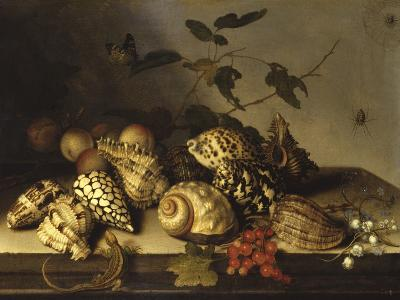 Mussels and Fruit Still-Life-Balthasar van der Ast-Giclee Print