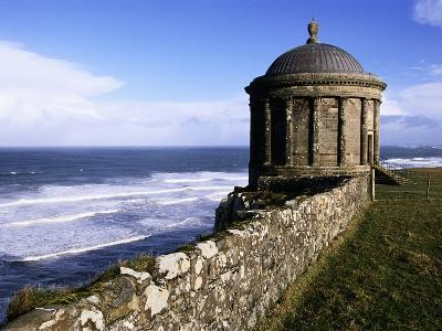 Mussenden Temple in Downhill Estate-S^ Vannini-Photographic Print