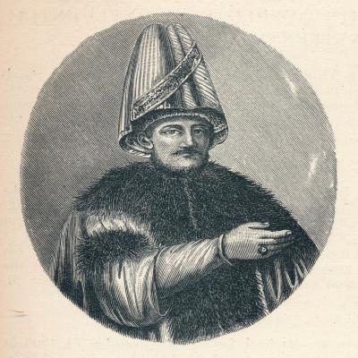 Mustafa Bairakdar, c1906, (1907)--Giclee Print