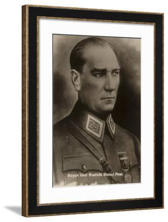 Mustafa Kemal Ataturk--Framed Giclee Print