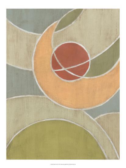 Muted Novas II-Vanna Lam-Art Print