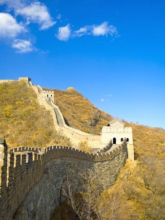 Mutianyu Section of the Great Wall of China-Xiaoyang Liu-Photographic Print