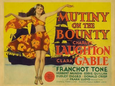 Mutiny on the Bounty, 1935--Art Print